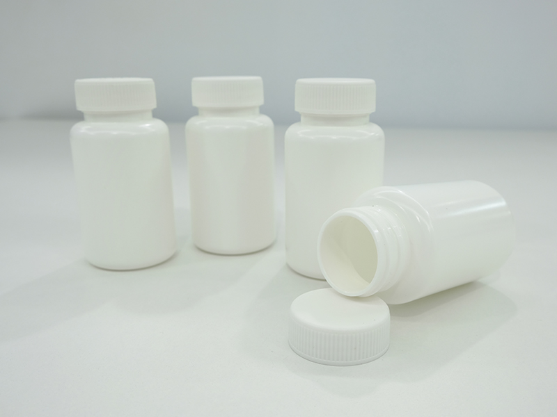 Oral solid medicinal high density polyethylene bottle